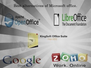 Microsoft Office Free Alternatives