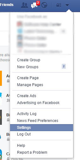 how to turn off location settings in facebook