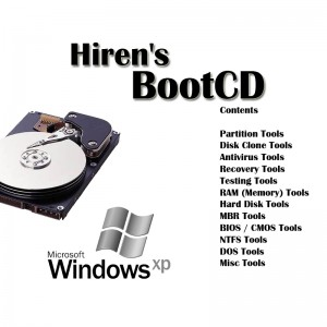 Best System Rescue Disk Hiren Boot CD