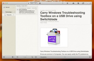 Deal of the Day-Reeder for Mac and iPad free for Limited Period thetechhacker