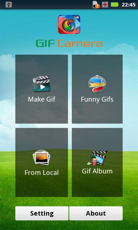 GIF Camera App