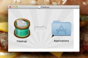 Installing Filedrop