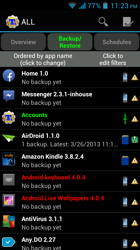 Remove Built in Apps on Android
