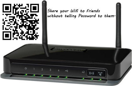 Share your Wifi to Friends without telling Password to them thetechhacker