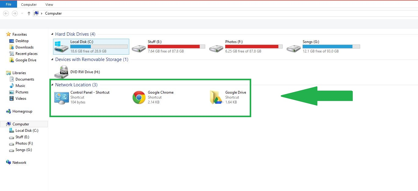 How to Add Programs and Folders to My Computer in Windows