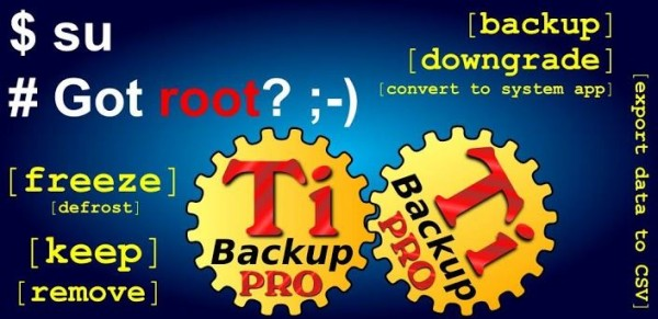 Titanium Backup Pro thetechhacker