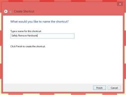 Creating Shortcut
