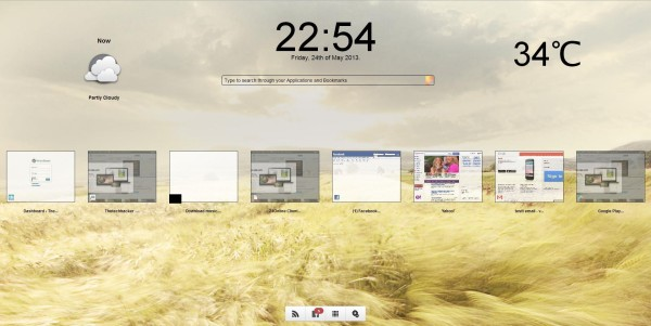 Customize Google Chrome New Tab Page With Clock,RSS Feeds And Weather Using Fruumo Extension thetechhacker