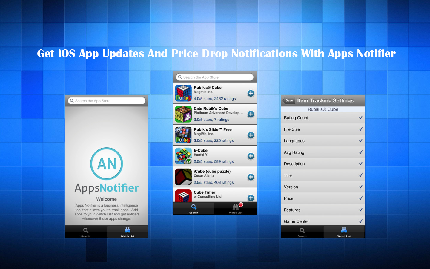 Get iOS App Updates And Price Drop Notifications With Apps Notifier thetechhacker
