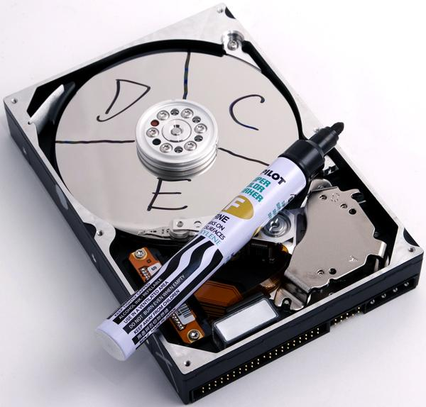 Harddisk Partitions