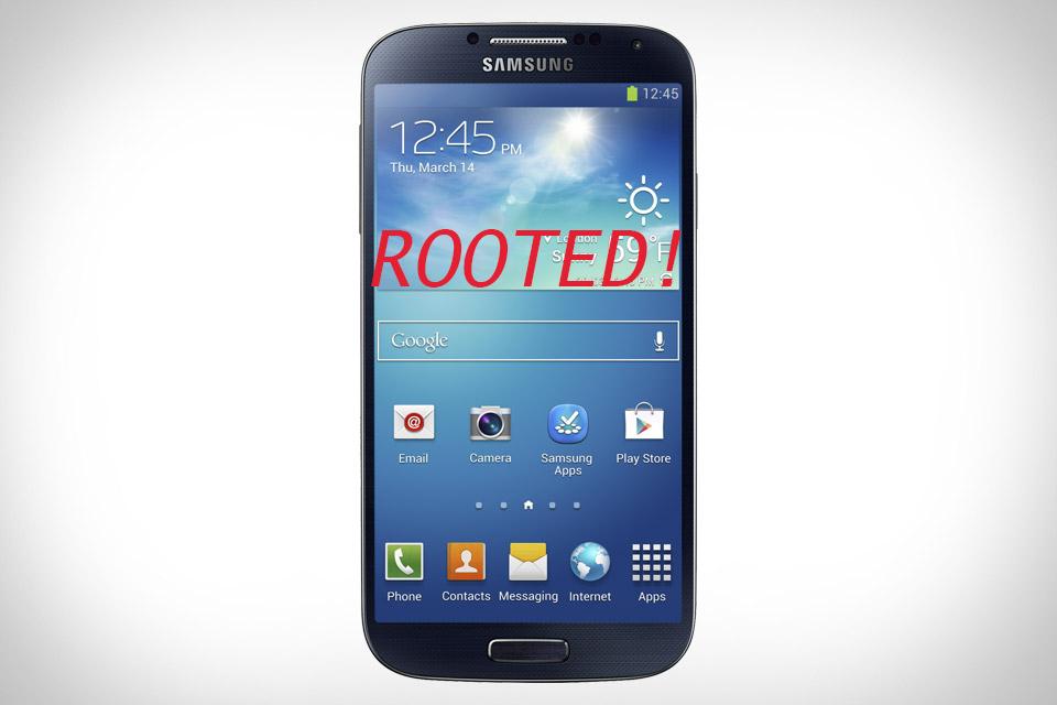Rooting Samsung Galaxy S4 thetechhacker