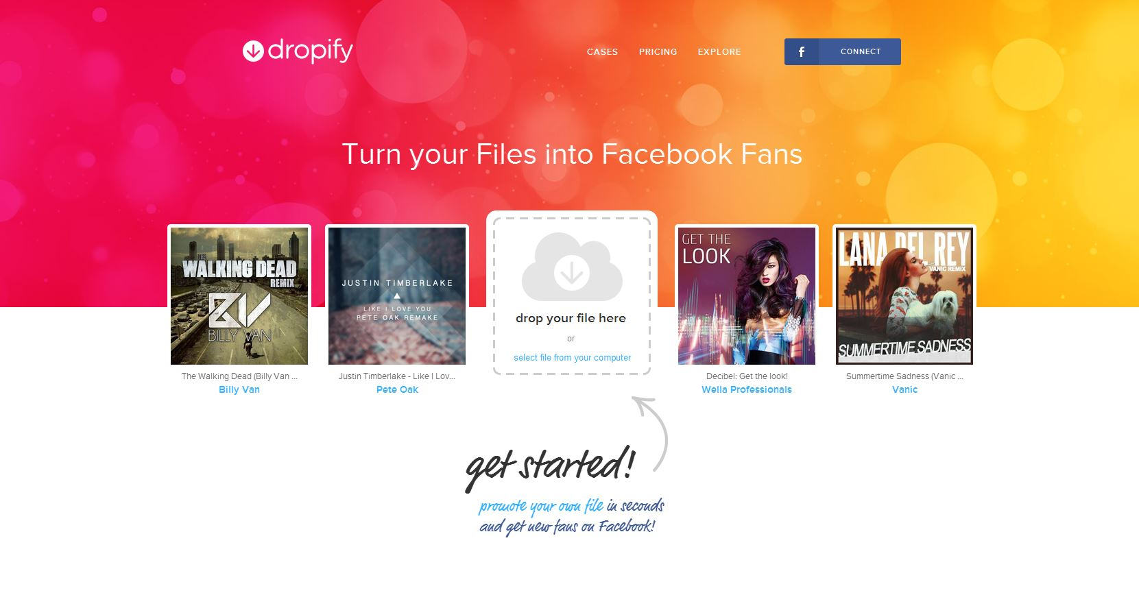 Share Any Kind Of Files With Twitter And Facebook Using Dropify thetechhacker