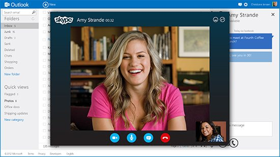 How to Make Skype Calls in Outlook.com thetechhacker