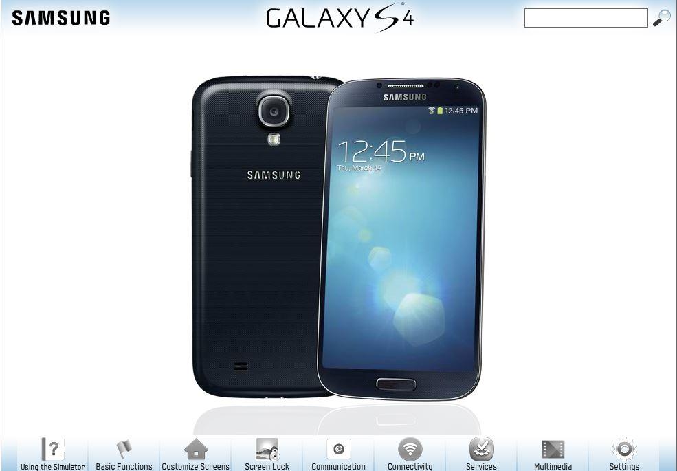 Try Samsung Galaxy S4 Online Using Samsung Galaxy S4 Simulator thetechhacker