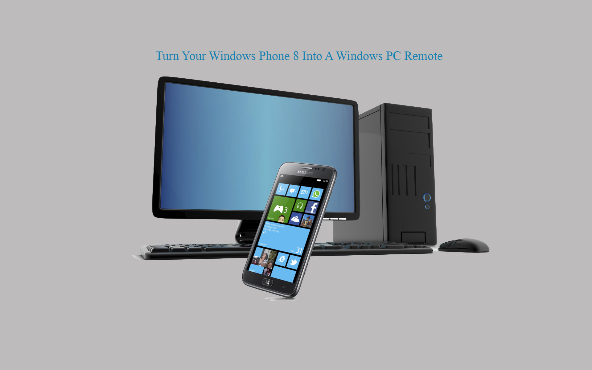 Turn Your Windows Phone 8 Into A Windows PC Remote thetechhacker