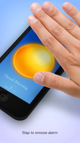 Wake Gestures Alarm Clock for iOS