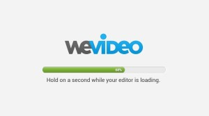 WeVideo loading
