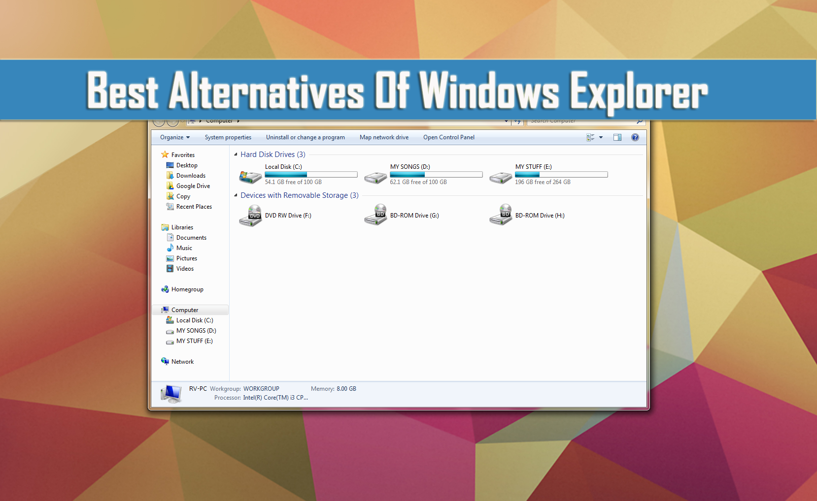 Best Alternatives Of Windows Explorer thetechhacker