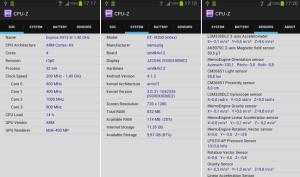 CPU-Z Info