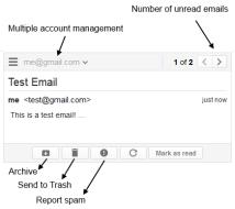 Gmail Notifier Panel