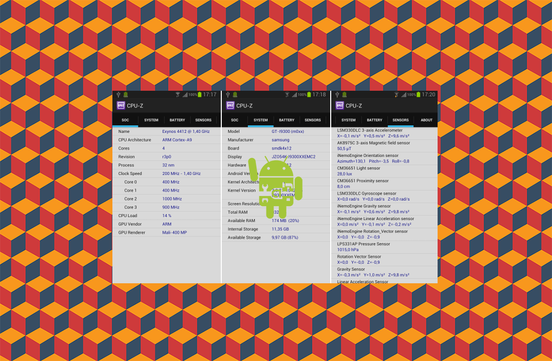Know Your Android Hardware Completly With CPU-Z thetechhacker