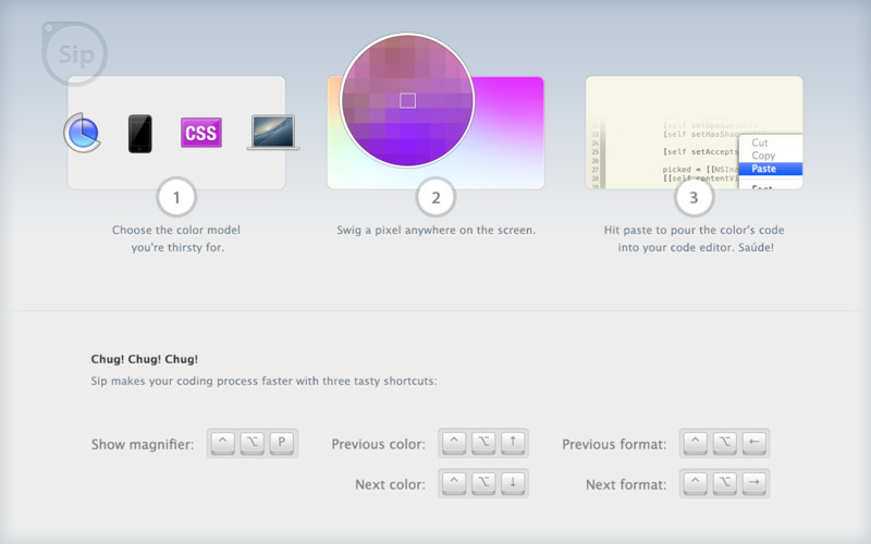 Grab Color Codes Instantly From Anywhere With Sip For Mac thetechhacker