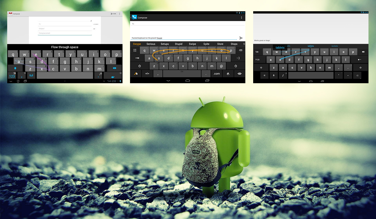 Top Three Android Keyboards That Help You To Type Faster thetechhacker