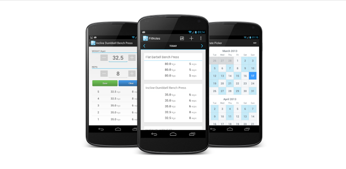 Track And Keep Your Workout Log With FitNotes For Android thetechhacker