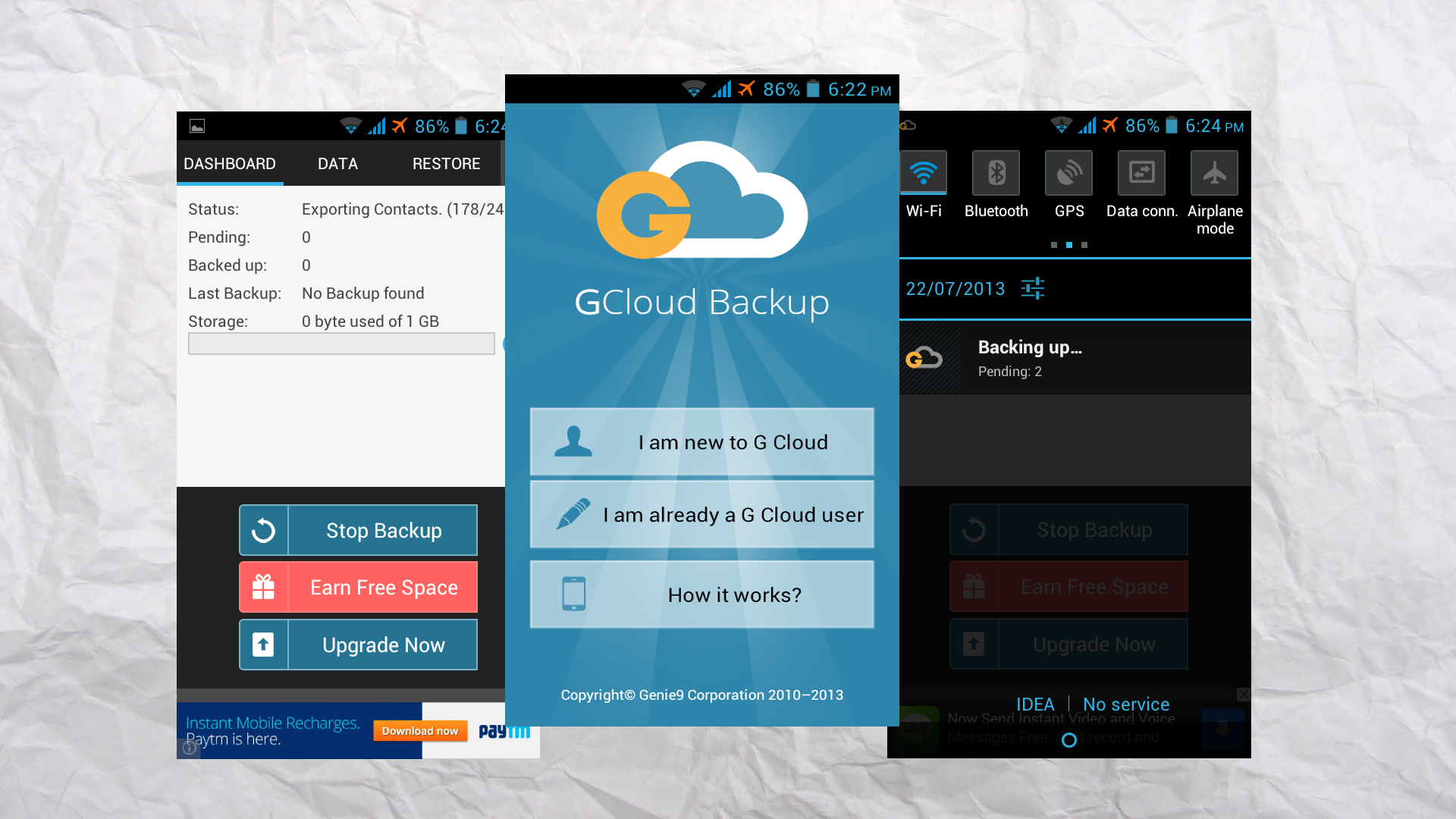 Backup Your Android Phone Completley With GCloud Backup thetechhacker
