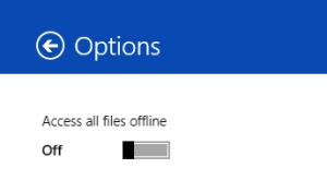 Offline Enable