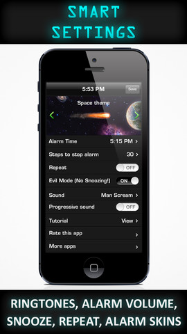 Walk up Alarm Clock For iOS users