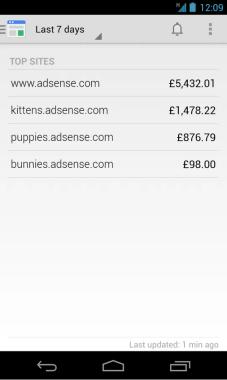 Google Adsence UI2