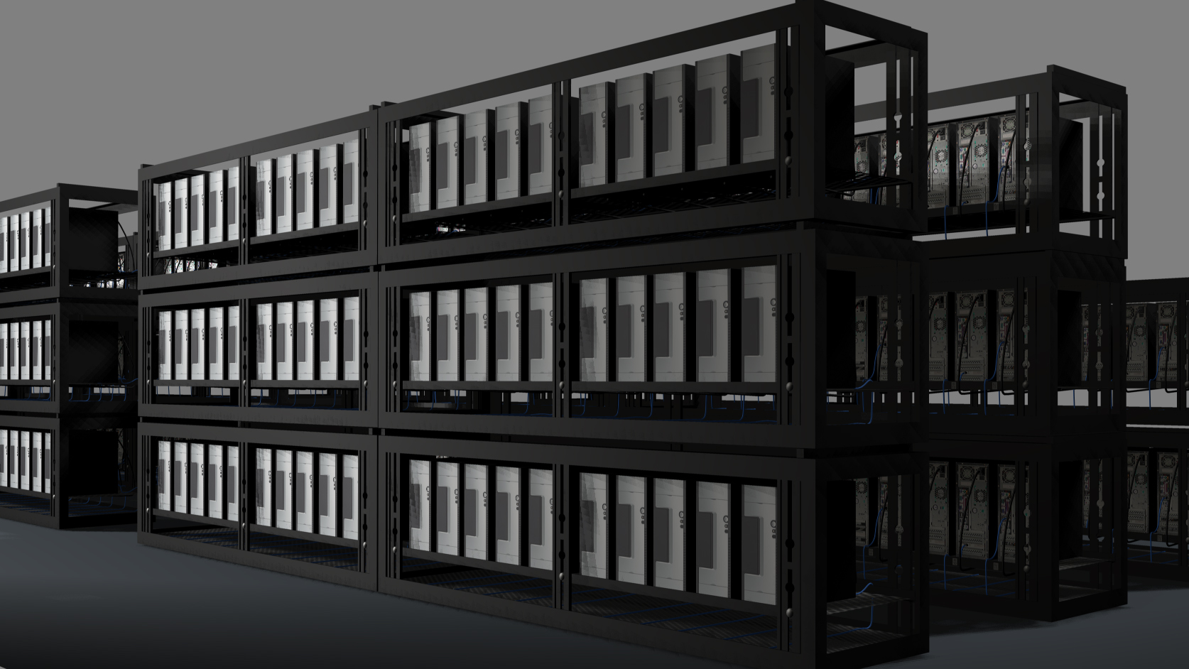 Computer Server Icon Computer Server Rack Icon