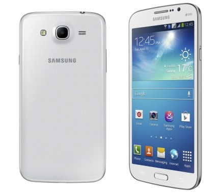 Samsung Galaxy Mega 6.3 Front Rear White