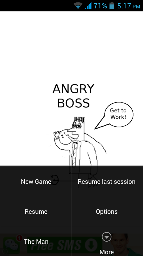 Angry Boss Settings