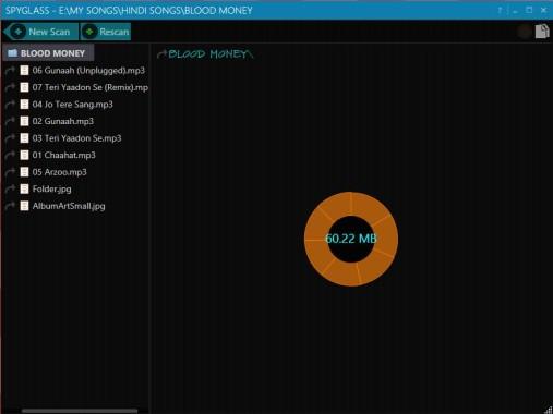 Spyglass Folder Analysis