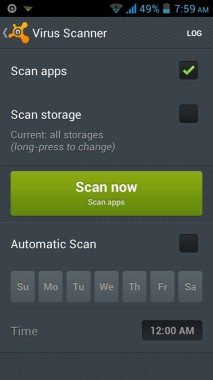 Avast Virus Scanner