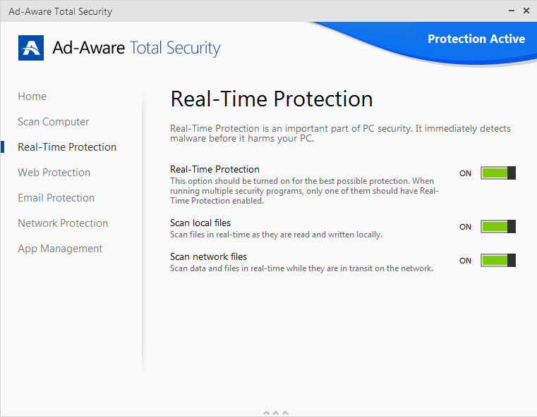 Ad-Aware Realtime Protection