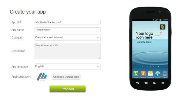 GoesApp Settings Customization