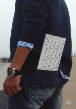 Keyboard Back Pocket