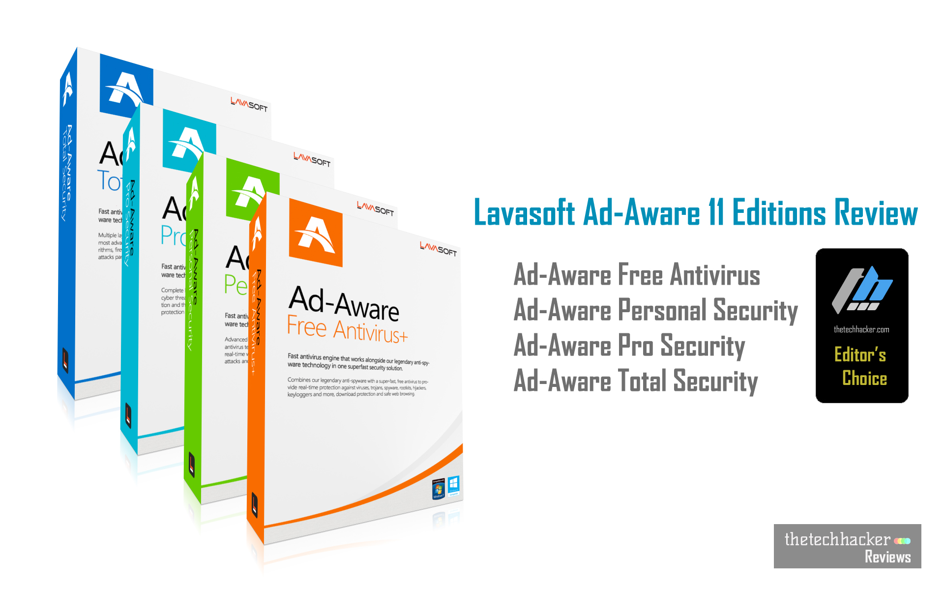 Lavasoft Ad-Aware 11 Editions Review