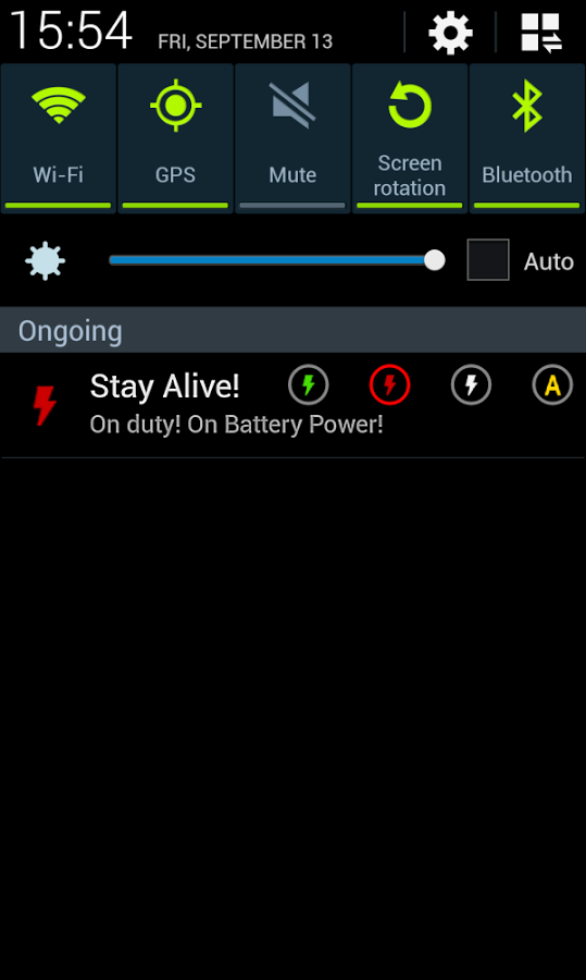 Stay Alive! UI