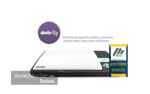 Doxie Flip Is A Transparent Flatbed Scanner For Easy Workflow