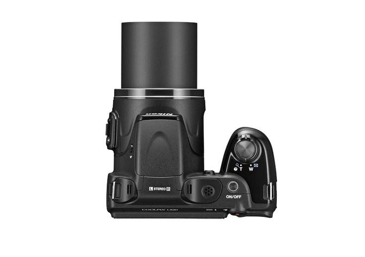 Nikon L820 Top View