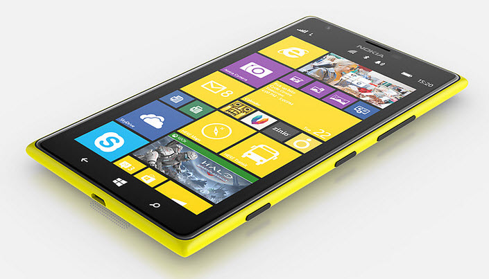 Nokia Lumia 1520 Display