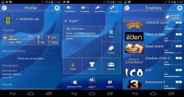 PS4 Smartphone App