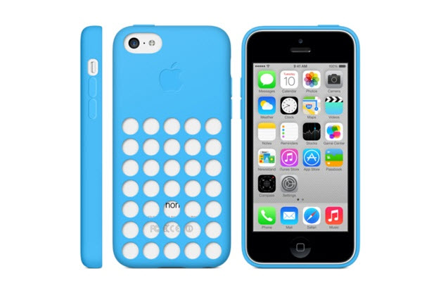 iPhone 5C Official Case Details