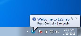 EzSnap Toolbar Icon