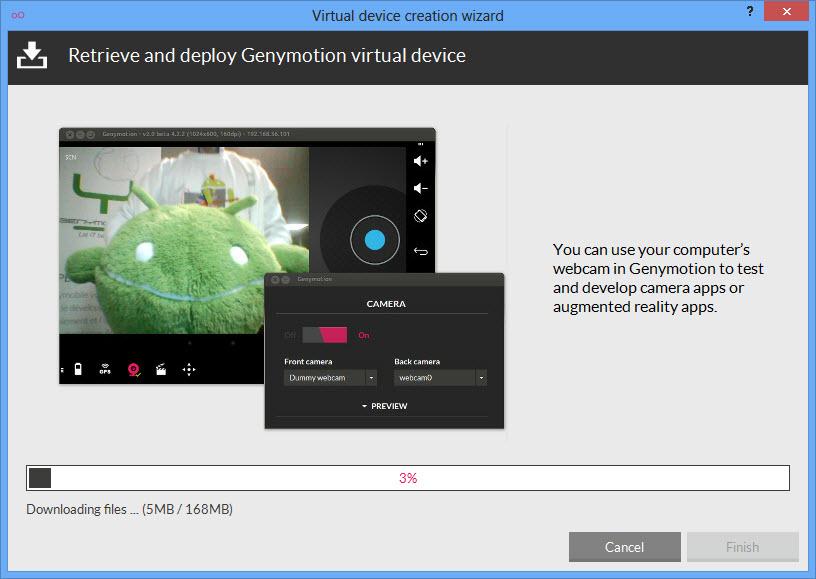 GeneMotion Virtual Device Download