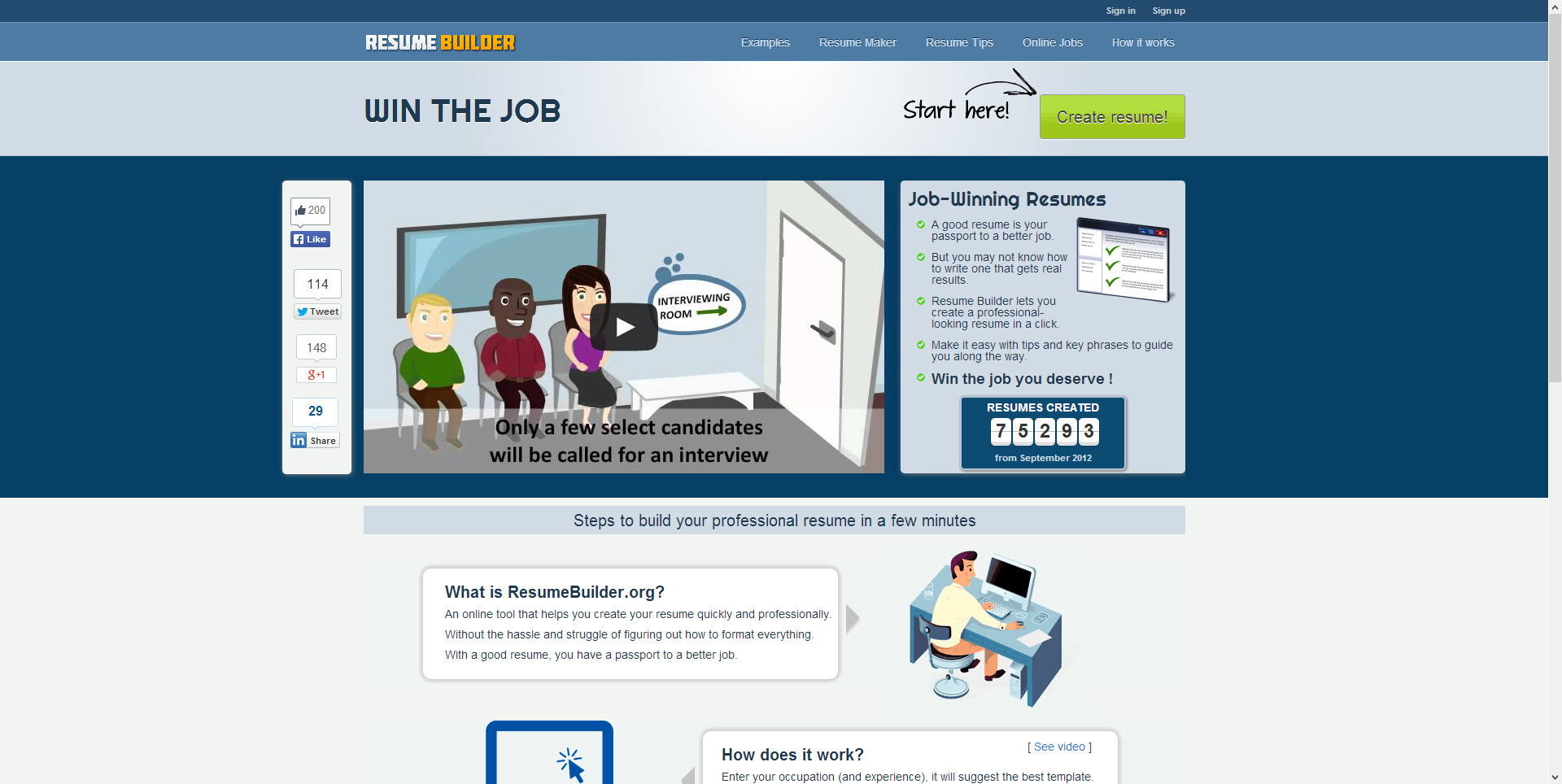 professional resume builder free resume examples and free resume